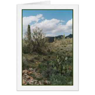 Cactus Coloring Greeting Card