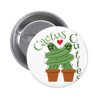 Cactus Cuties 6 Cm Round Badge
