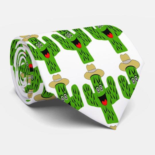 Cactus Design White Tie