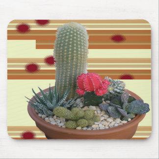 Cactus Dish Garden #2 Mouse Pad