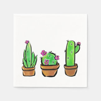 Cactus Disposable Napkin