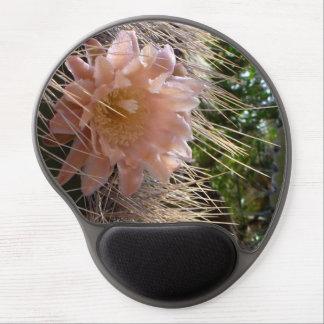 Cactus flower gel mouse pad