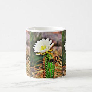 Cactus Flower on Stem Coffee Mug