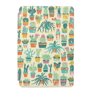 Cactus Flower Pattern iPad Mini Cover