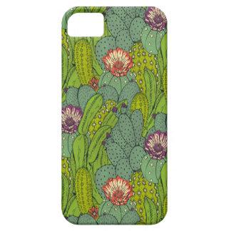 Cactus Flower Pattern iPhone 5 Case