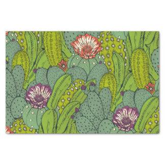 Cactus Flower Pattern Tissue Paper