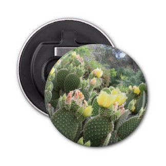 Cactus Flowers Bottle Opener