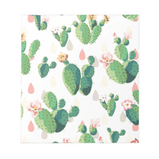 Cactus Flowers Notepad