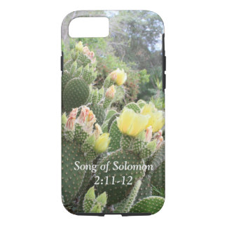 Cactus Flowers Song of Solomon iPhone Case