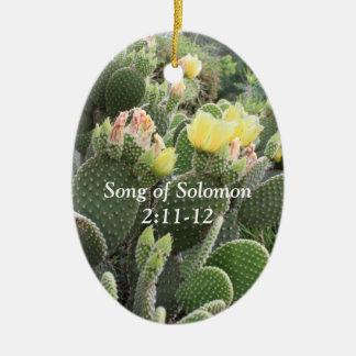 Cactus Flowers Song of Solomon Ornament