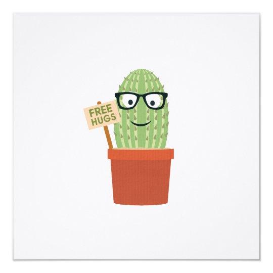 Cactus free hugs card