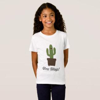 Cactus Free Hugs   Girls T-Shirt