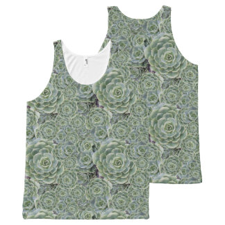 Cactus Garden - collage All-Over Print Tank Top