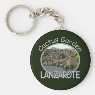 Cactus Garden keychain