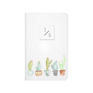 Cactus Garden | Watercolor Initial Journal
