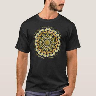 Cactus Hugger T Shirt  with Barrel Cactus Mandala