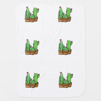 Cactus joy baby blanket