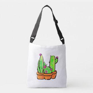 Cactus joy - warm hue crossbody bag