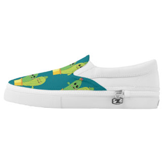 cactus love slip on shoes