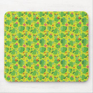 Cactus Me Outside (Green) - Flat Mousepad