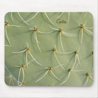 Cactus Mousepad with Custom Text