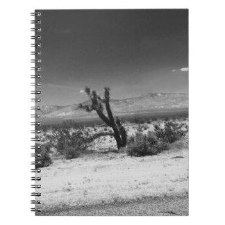 Cactus on a slant Notebook
