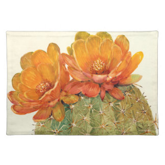 Cactus Orange Blossoms Placemat