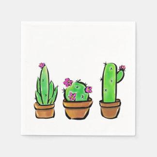Cactus Paper Napkin