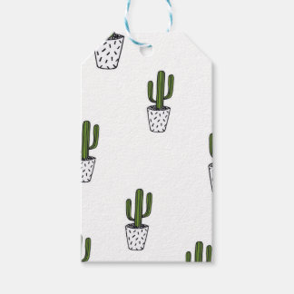 Cactus Pattern Gift Tags