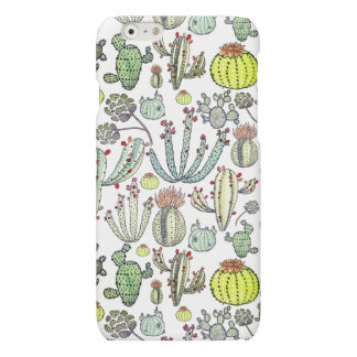 Cactus Pattern Iphone 6/6s Matte Phone Case iPhone 6 Plus Case