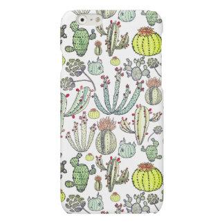 Cactus Pattern Iphone 6/6s Matte Phone Case iPhone 6 Plus Case