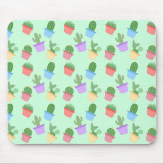 Cactus Pattern Mouse Pad