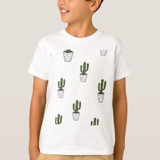 Cactus Pattern T-Shirt