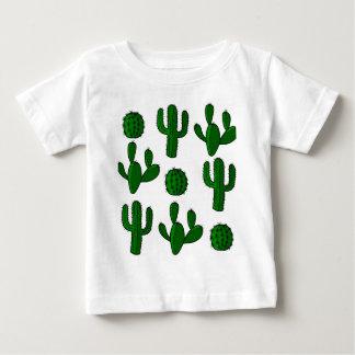 Cactus pattern - transparent baby T-Shirt