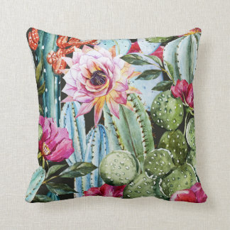 Cactus pillow (Black)