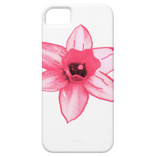 Cactus Pink Flower Template increase decrease size iPhone 5 Cover