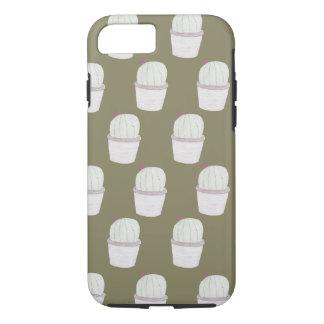 Cactus Plant Pattern iPhone 7 Case