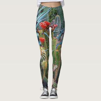 Cactus plants leggings