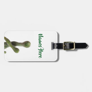 Cactus Plants Photo  Custom Luggage Tag
