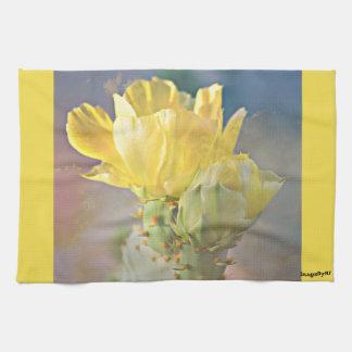 Cactus Rose Kitchen Towel