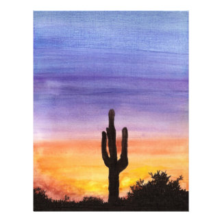 Cactus Sunset Flyer