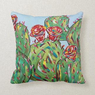 """Cactus Throw Pillow, Throw Pillow 16"""" x 16"""""""