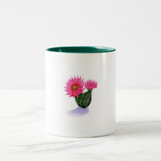 Cactus Two-Tone Coffee Mug