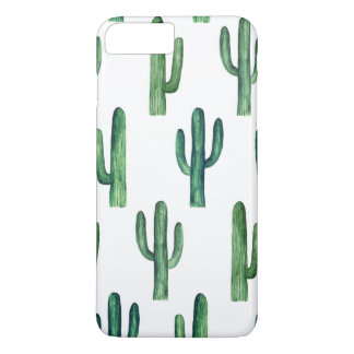 Cactus watercolor. Green botanical. Modern iPhone 8 Plus/7 Plus Case