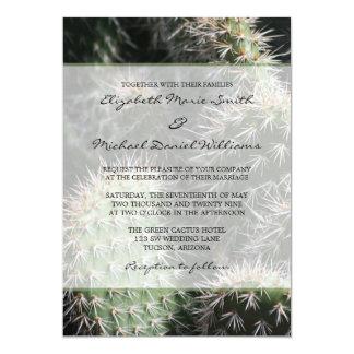 Cactus Wedding Card