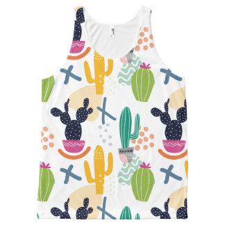 Cactus woman All-Over print tank top