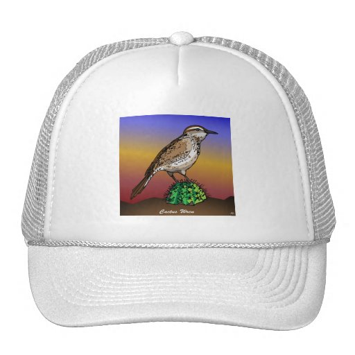 Cactus Wren rev.2.0 Shirts and Apparel Trucker Hats