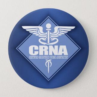 Cad CRNA (diamond) 10 Cm Round Badge