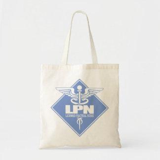 Cad LPN (diamond) Budget Tote Bag