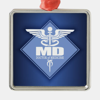 Cad MD (diamond) Christmas Ornament